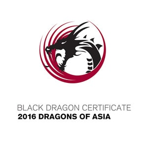 Black Dragon Certificate 2016 Dragons of Asia