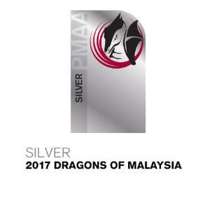 Silver 2017 Dragons of Malaysia