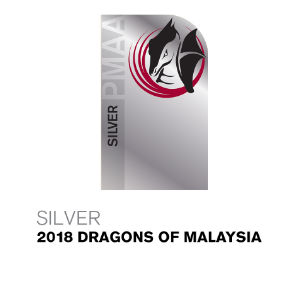 Silver 2018 Dragons of Malaysia