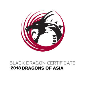 Black Dragon Certificate 2018 Dragons of Asia