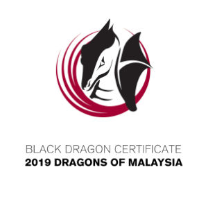 Black Dragon Certificate 2019 Dragon of Malaysia